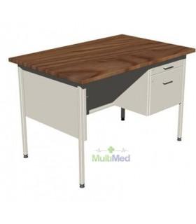 Mesa escritorio  de 1.20 mts. Con cajon c.b 511.619.0157