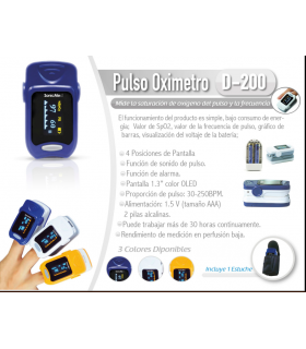 PULSO OXIMETRO D-200