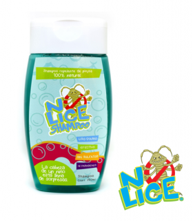 Shampoo repelentes de piojos