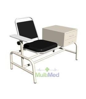 Mesa con silla p/toma de muestras esma