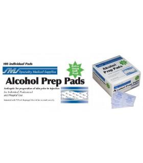 Almohadillas con alcohol (Prep Pads)