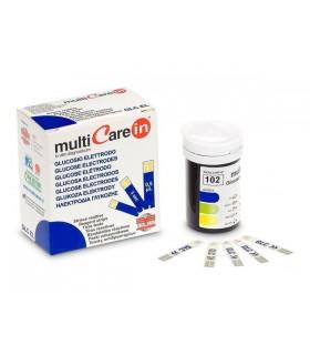 Tiras reactivas Multicare para glucosa